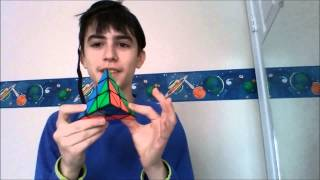 challenge solve a pyraminx blindfolded