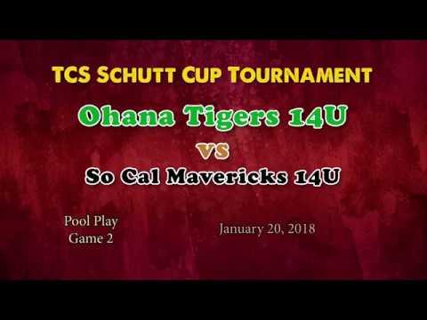 TCS Schutt Cup Game 2 Ohana Tigers vs So Cal Mavericks