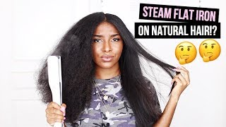 DOES THIS STEAM STRAIGHTNER REALLY WORK!? | FIRST IMPRESSIONS
