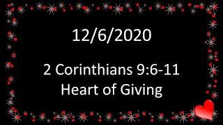12/6/2020 Sunday Am Worship