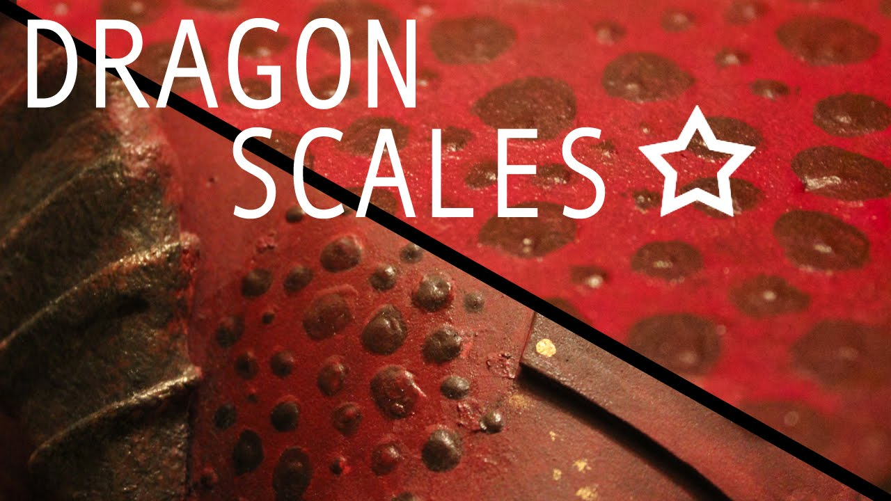 3d paint dragon scale texture tutorial