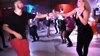 Rubia Garcia & FJ Torres social salsa dancing @ LVS-SC'18!