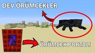 Minecraft Mod - Örümcek Portalı ve Dev Örümcekler