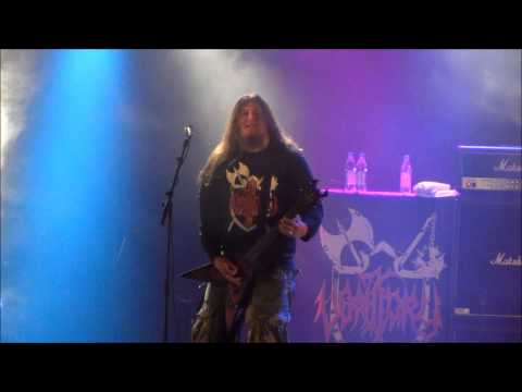 Vomitory - Blessed And Forsaken Live @ Sweden Rock Festival 2013