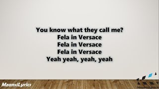 Lyrics to aka ft. kiddominant – fela in versace --subscribe for more! --share! ______________________________________________________________________________...