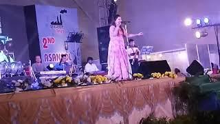 sa re ga ma pa singer sohini mukherjee live performance asansol 2017