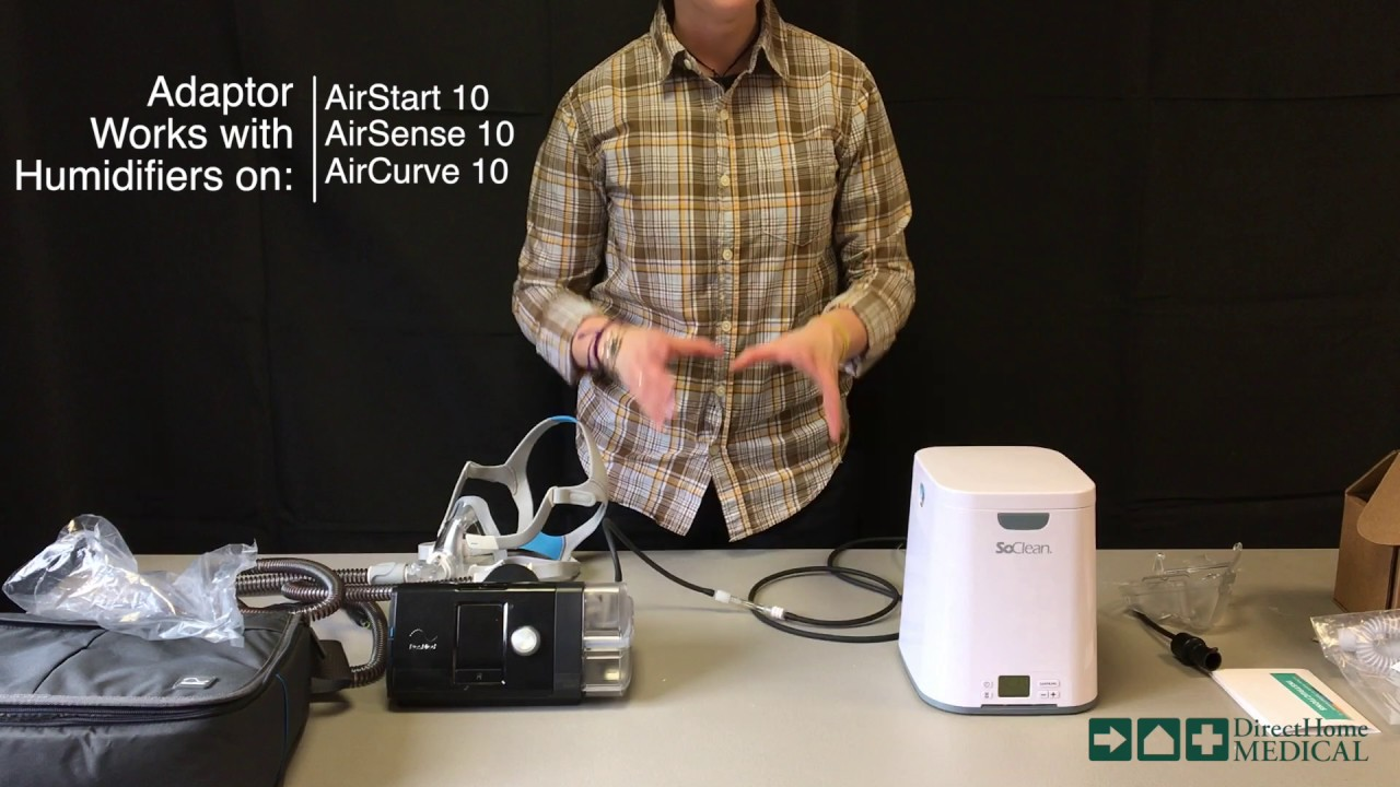 Setting Up the SoClean 2 CPAP Sanitizer with AirSense 10 Machines  DirectHomeMedical