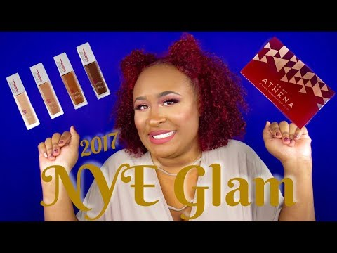 GRWM: NYE Glam Tutorial - New Year's Resolutions, Dieting, L