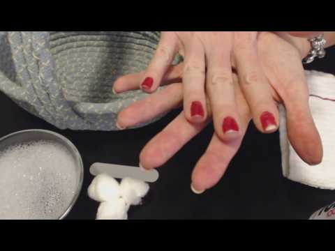 ASMR Soft Spoken ~ Removing Nail Polish & Filing/Painting Nails ~ Southern Accent