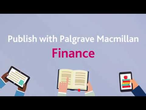 Publish with Palgrave Macmillan Finance