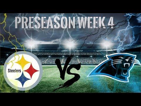 Its Game Day!!! || Pittsburgh Steelers Vs Carolina Panthers || Preseason Week 4 Pump Up