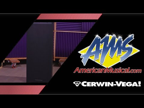 Cerwin Vega CVXL 215 Overview - American Musical Supply