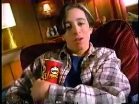 Pringles Chips Slam The Stack Game Commercial from 1997 with Michael Bacall