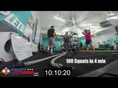 iFlix Challenge at 360 Fitness Club Fort