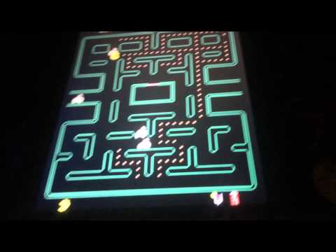 Pac Man Plus (Arcade Machine Gameplay)