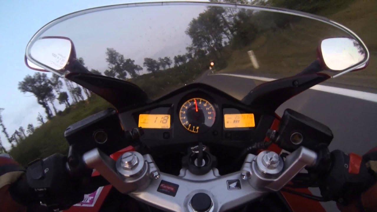 GoPro3 Honda VFR800 VTEC - YouTube