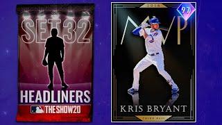 97 Kris Bryant Plus New Event Reward Cards MLB The Show 20 Diamond Dynasty