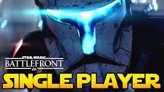 GRAŁEM w nowy tryb SINGLE PLAYER Star Wars Battlefront 2 PL ☄️