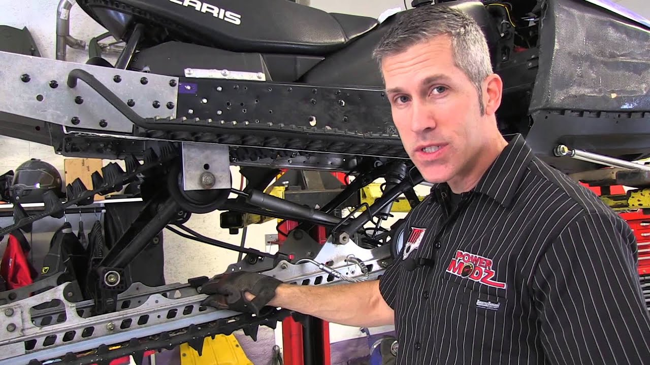 Setting Your Snowmobile Track Tension With The Slp Tension