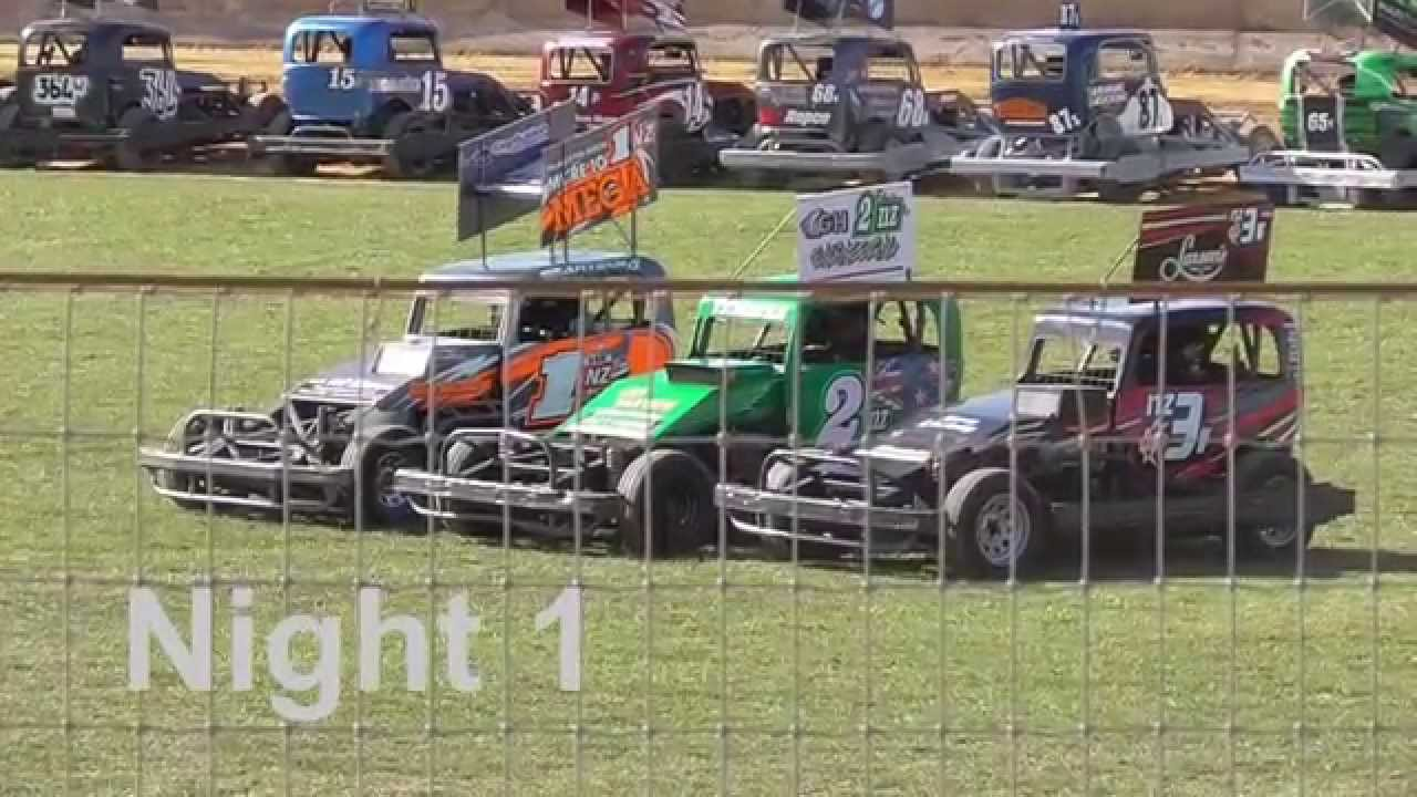 NZ Stockcars BIG HIT HIGHLIGHTS - YouTube