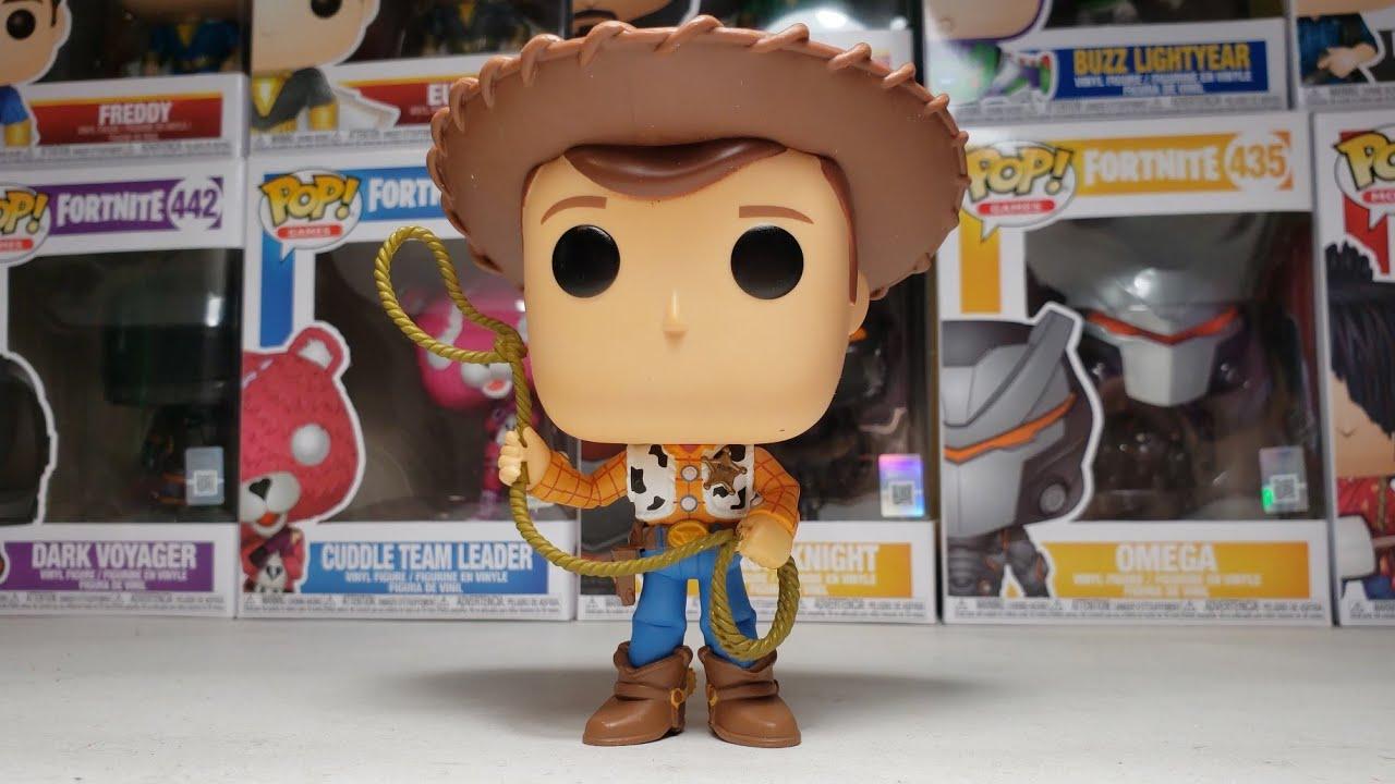 Funko POP Disney Toy Story 4 Shérif Woody #522
