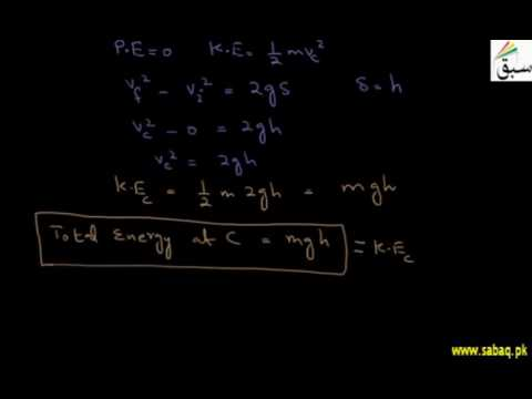 Interconversion of Potential Energy and Kinetic Energy