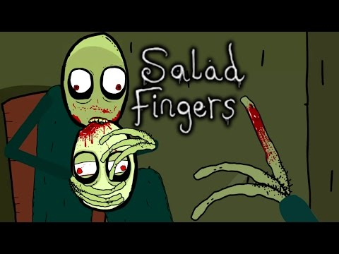 WEIRDEST CARTOON TO EVER EXIST?! - SALAD FINGERS - SCARIEST VIDEOS ON YOUTUBE #5
