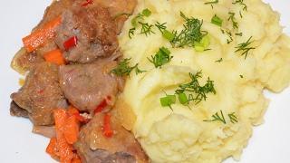 Мясо в имбирном соусе (Вкусняшки от Ксюняшки)