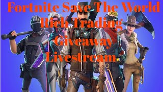 Fortnite Save The World Christmas giveaway right now join - Trade-Free crafts