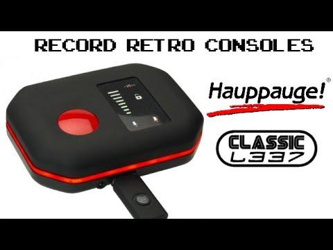 Record Retro Consoles with Hauppauge HD PVR Rocket