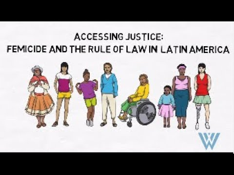 Accessing Justice: Femicide and the Rule of Law in Latin America
