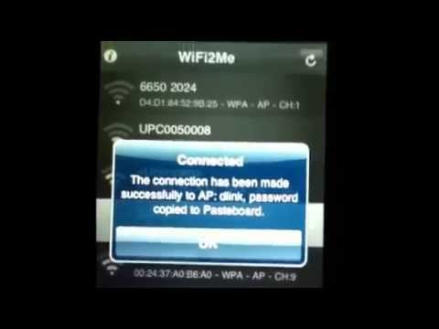 How to Hack a Wifi Network with an IPod/IPhone