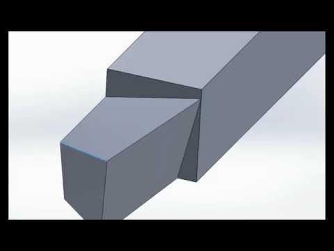 Cutting Tool Signature, Nomenclature, Designation, Geometry - Animation
