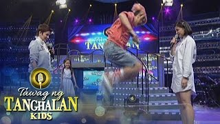 Tawag ng Tanghalan Kids: Vice, Anne and Amy play chinese garter