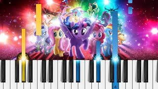 Lukas Graham Off To See The World EASY Piano Tutorial My Little Pony The Movie Soundtrack