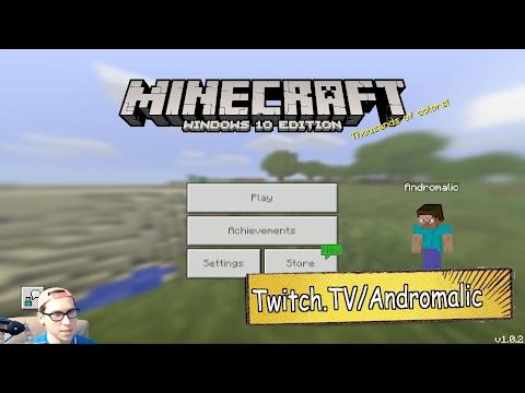 Прохождение Minecraft Windows 10 Edition - ИГРАЮ ПЕРВЫЙ РАЗ, ПЕРВЫЕ ВПЕЧАТЛЕНИЯ - Видео из Майнкрафт (Minecraft)
