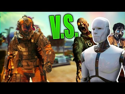 Black Ops 3 - PURIFIER V.S. ZOMBIES Test! (Black Ops 3 MP Gameplay)