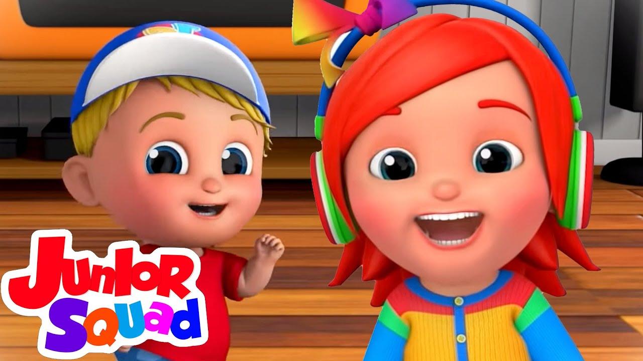 Ha ha lagu | Video edukasi anak | Junior Squad Indonesia | Kartun anak | Bayi sajak