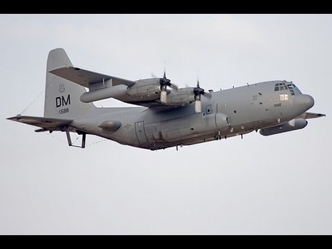 EC-130H Launch during ME Phase 09A.