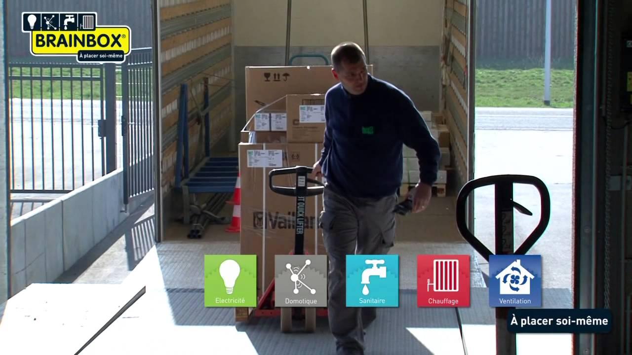 Brainbox électricité Domotique Sanitaire Chauffage Ventilation Faites Le Vous Même