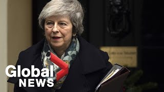 Theresa May says Brexit vote will occur in January, shuts down calls for second referendum