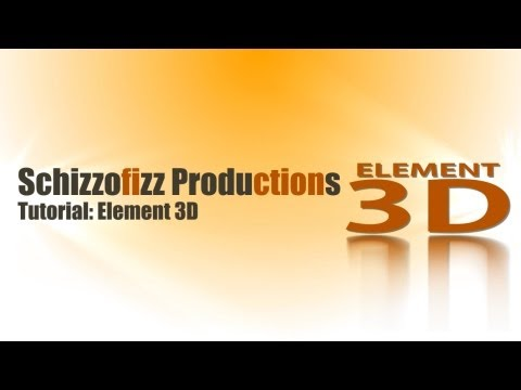 Element 3D Import Export OBJ 3D Sequence aus Blender (german)
