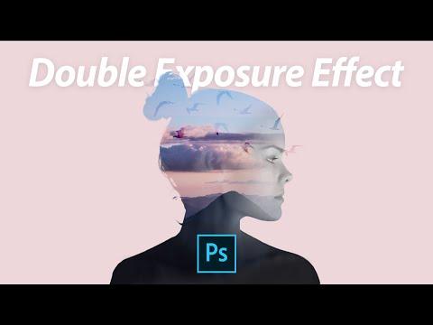 Double Exposure Effect Adobe Photoshop Tutorial | Easy thumbnail