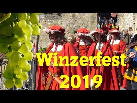 Kompletter Festzug Winzerfest Besigheim 2019
