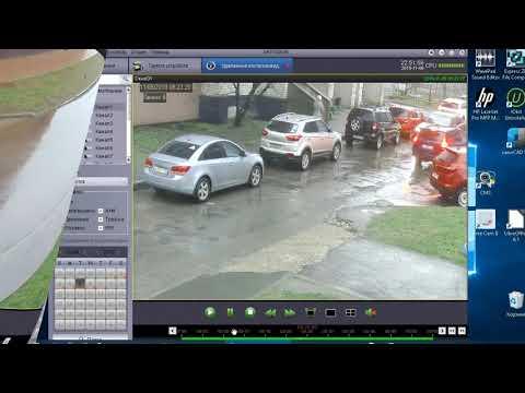 Удаленный просмотр  видеокамер с помощью программного обеспечения  Satvision на ПК и смартфоне.
