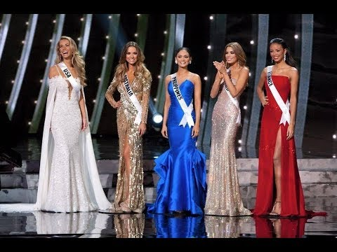 top 15 Evening Gown Miss Universe 2015 Preliminary competition - YouTube