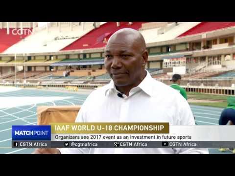 131 countries sending nearly 2,000 athletes to Nairobi event