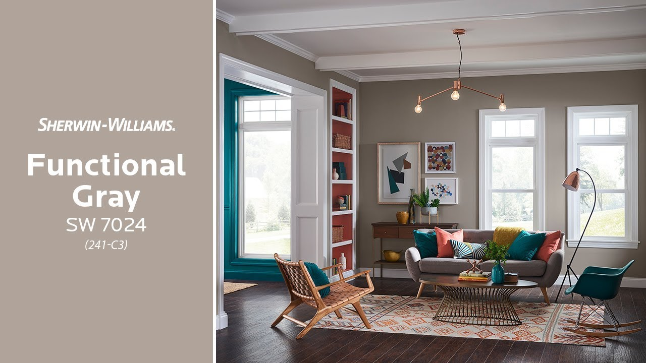 Sherwin Williams: December 2018 Color Of The Month: Functional Gray