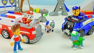 Щенячий Патруль все серии подряд. Видео для детей с игрушками PAW PATROL