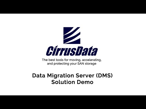 Data Migration Server (DMS) Solution Demo